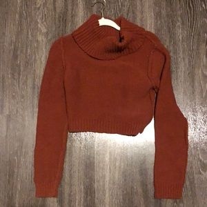 Free People Rust Sweater